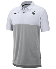 Nike Men's Michigan State Spartans Dri-Fit Colorblock Breathe Polo