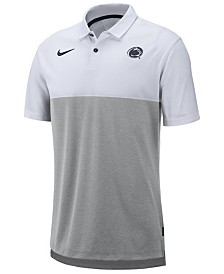 Nike Men's Penn State Nittany Lions Dri-Fit Colorblock Breathe Polo