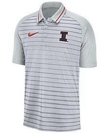 Men's Illinois Fighting Illini Stripe Polo