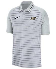 Nike Men's Purdue Boilermakers Stripe Polo