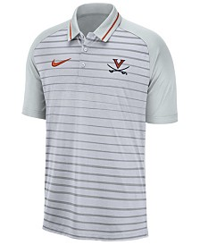 Nike Men's Virginia Cavaliers Stripe Polo