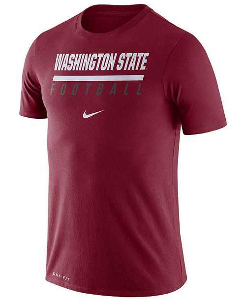 Nike Men's Washington State Cougars Icon Wordmark T-Shirt