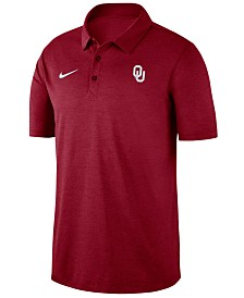 Nike Men's Oklahoma Sooners Dri-FIT Breathe Polo