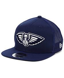 New Era New Orleans Pelicans Dub Fresh Trucker 9FIFTY Snapback Cap