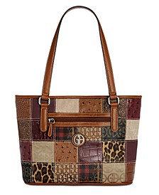 Patchwork Tote, Created for Macy's