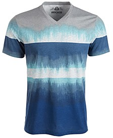 Men's Colorblocked Dip Dyed T-Shirt, Created for Macy's
