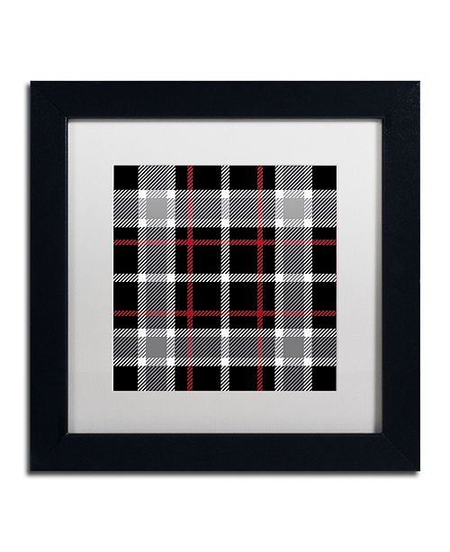 """Trademark Global Color Bakery 'Group 05 A' Matted Framed Art - 11"""" x 11"""""""