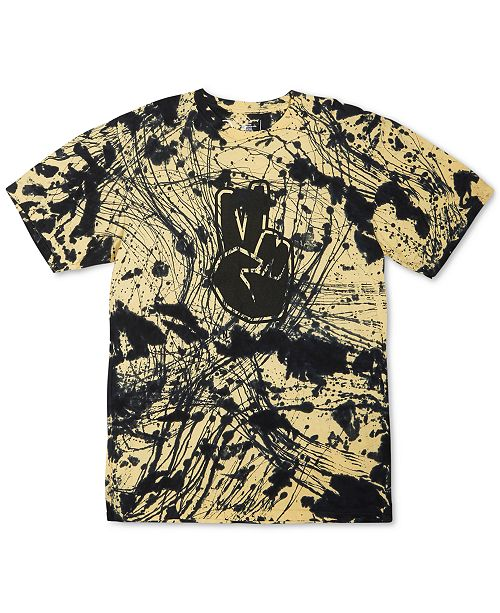 Neff Men's Batik-Dyed Logo Graphic T-Shirt