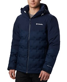 Columbia Men's Wild Card™ Stretch Waterproof Quilted Down Ski Jacket with Removable Hood