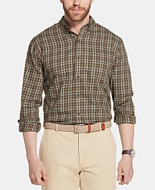 G.H. Bass & Co. Men's Heritage Classic-Fit Plaid Twill Shirt