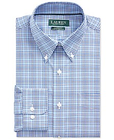 Men's Classic-Fit No-Iron Glen Plaid Dress Shirt