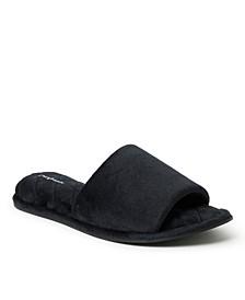 Women's Microfiber Slide Slippers, Online Only