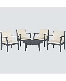 Fadell Outdoor 5-Pc. Seating Set (4 Chairs & 1 Coffee Table)