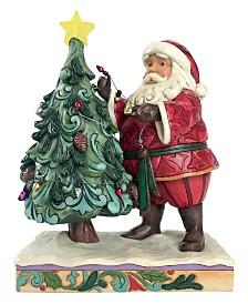 Jim Shore Santa Decorating Tree