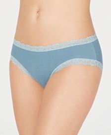 Jenni Women's Pointelle Lace Bikini Underwear, Created for Macy's