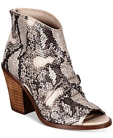 ZIGIny Zigi Soho Indera Peep Toe Booties
