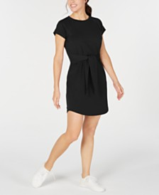Ideology Tie-Front Dress, Created for Macy's