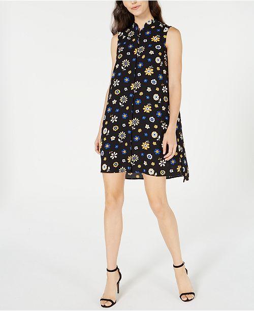 Anne Klein Floral-Print Shift Dress