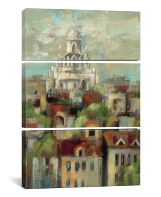 """Spring in Paris I by Silvia Vassileva Gallery-Wrapped Canvas Print - 60"""" x 40"""" x 1.5"""""""