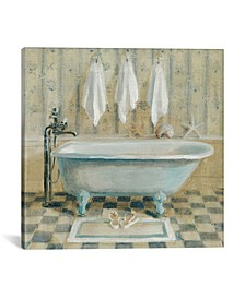 "Victorian Bath Iv by Danhui Nai Gallery-Wrapped Canvas Print - 12"" x 12"" x 0.75"""