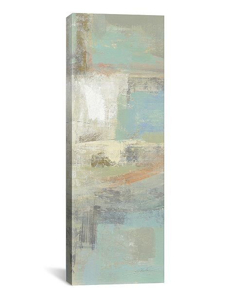 "iCanvas Shades of Celedon Iii by Silvia Vassileva Gallery-Wrapped Canvas Print - 36"" x 12"" x 0.75"""