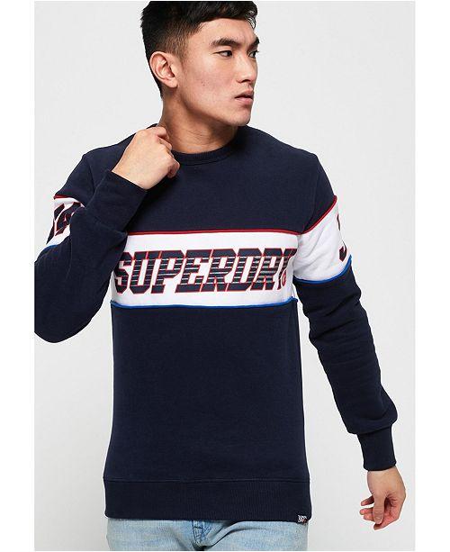 Superdry Vintage Logo Hoodie Podium Navy
