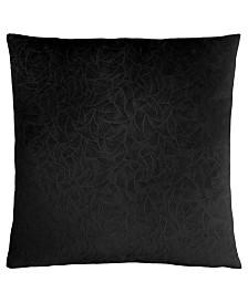 "Monarch Specialties 18"" x 18"" Floral Velvet Pillow"
