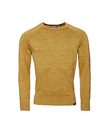 Men's Garment-Dyed Sweater