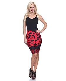 Knee Length Pencil Skirt