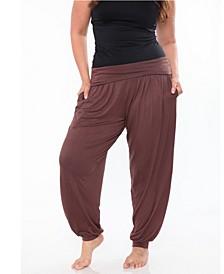 Plus Harem Pants