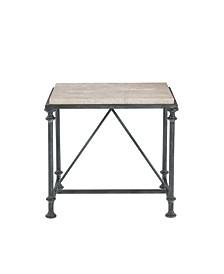 Galesbury Metal End Table