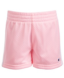 Champion Toddler Girls Striped Mesh Shorts