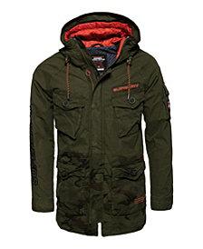 Superdry Mixed Rookie Parka Jacket