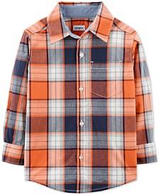 Baby Boys Plaid Cotton Shirt