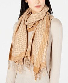 Weekend Max Mara Canarie Printed Wool Scarf