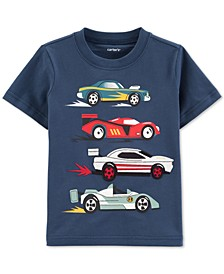 Baby Boys Race Car-Print Cotton T-Shirt