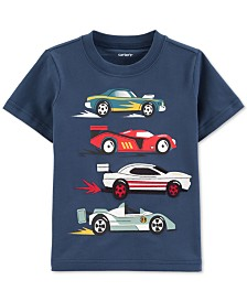 Carter's Baby Boys Race Car-Print Cotton T-Shirt