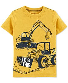 Baby Boys Dig-Print Cotton T-Shirt