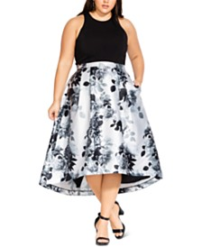 City Chic Trendy Plus Size Amelia Dress