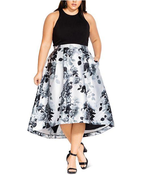 City Chic Trendy Plus Size Amelia Dress
