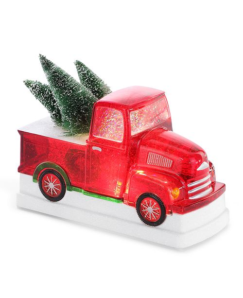 Napco LED Christmas Tree in Truck