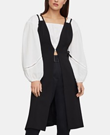 BCBGMAXAZRIA Strappy Lace-Up Vest