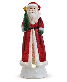 Napco LED Santa with Christmas Tree