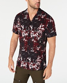 I.N.C. Men's Haunting Floral Shirt, Created for Macy's