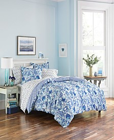Poppy Fritz Brooke Comforter Sham Set, Full/Queen