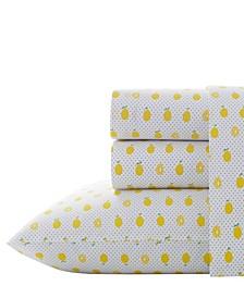 Lemons Sheet Set, Twin XL