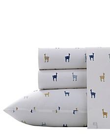Llamas Sheet Set, Full