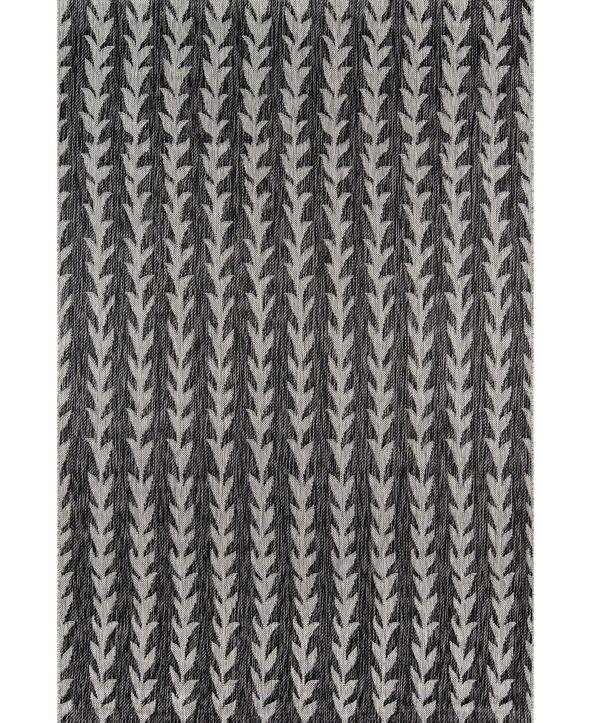 "Novogratz Collection Novogratz Villa Vi-02 Charcoal 6'7"" x 9'6"" Area Rug"