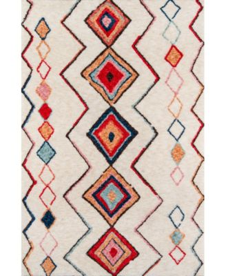 "Bungalow Bun-6 Multi 7'6"" x 9'6"" Area Rug"