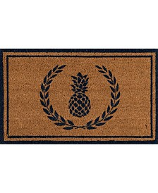 "Erin Gates Park Par-1 Pineapple Navy 1'6"" x 2'6"" Area Rug"